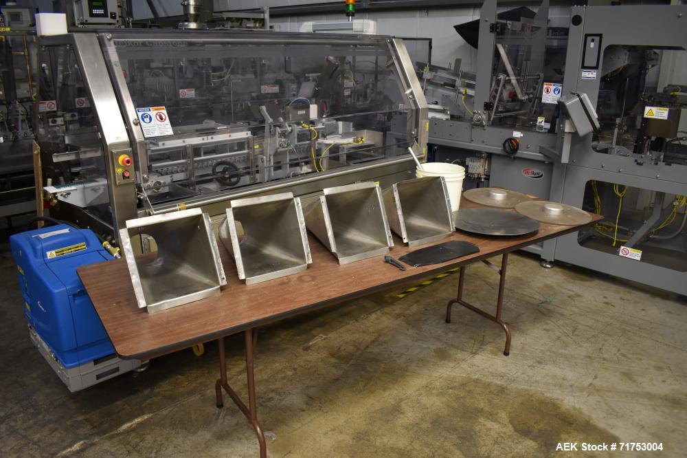 Used- Klockner Bartelt RPM-100 Horizontal Form Fill Seal Pouch Packager.