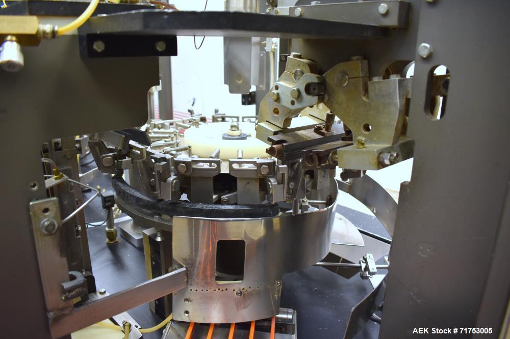 Klockner Bartelt RPM-100 Rotary Horizontal Form Fill & Seal Pouch Machine.