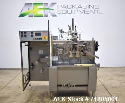 Used- Enflex Model F11T Horizontal Form Fill Seal Pouch Machine with Liquid Fill