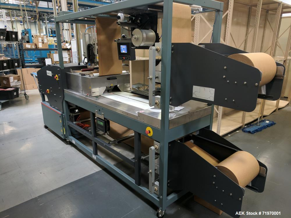 Used- Priority Pak Semi-Automatic Cold Seal Packaging System, Model G2. 8-10 CFM, 100 psi. 115VAC Version Receptacle Type, A...