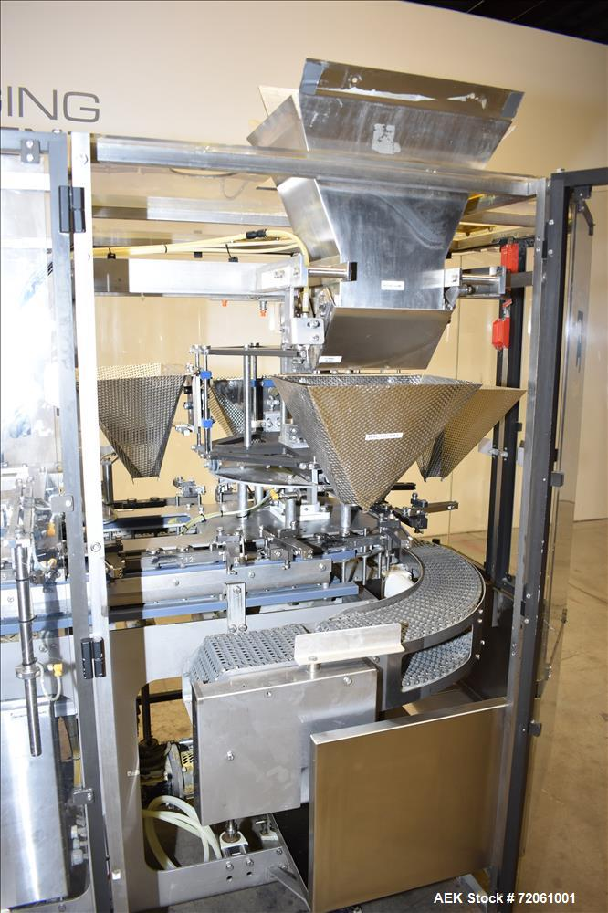 Used- Roberts Model IMP1500 Preformed Pouch Packager