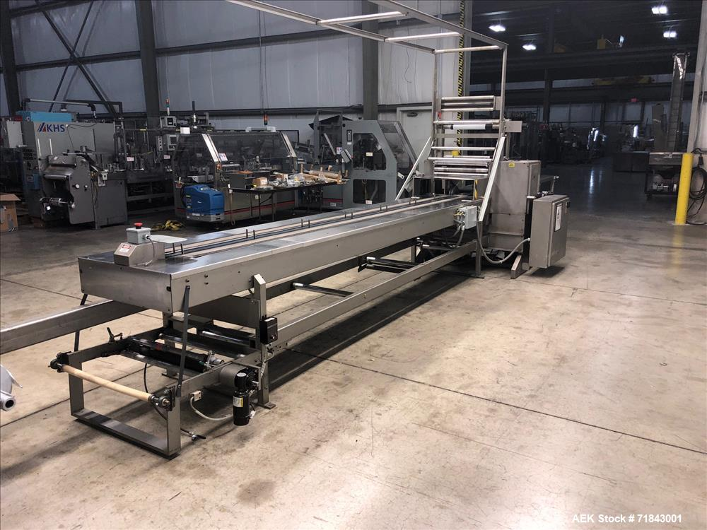 System Packaging Model 9000-24-8 Cold Seal Horizontal Wrapper