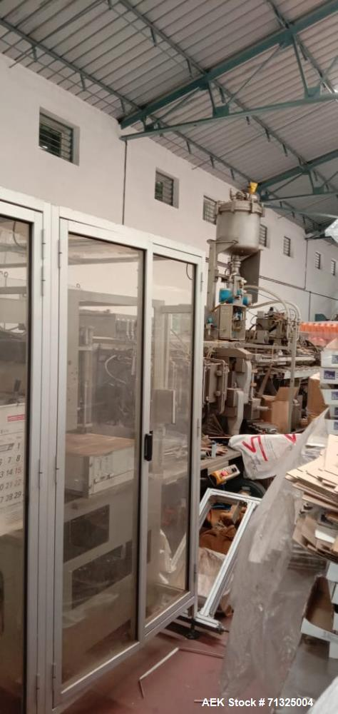 Unused - (2) Units Volpak SP-170 BP Form Fill and Seal Machines
