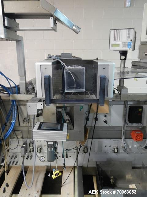 Used-One (1) used Uhlmann thermoforming blister packaging machine, model UPS3, with Aylward feeder, Neslab chiller, full con...