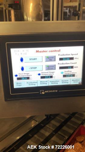 Used- Lead Top Pharmaceutical Machinery DPP-250 Blister Packing Machine