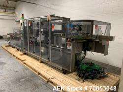 Used Uhlmann thermoforming blister packaging machine, model UPS 1040, includes roll feed assembly, c...