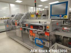 Used Uhlmann thermoforming blister packaging line, built in 2004, consisting of:  - Uhlmann UPS4 ETX...