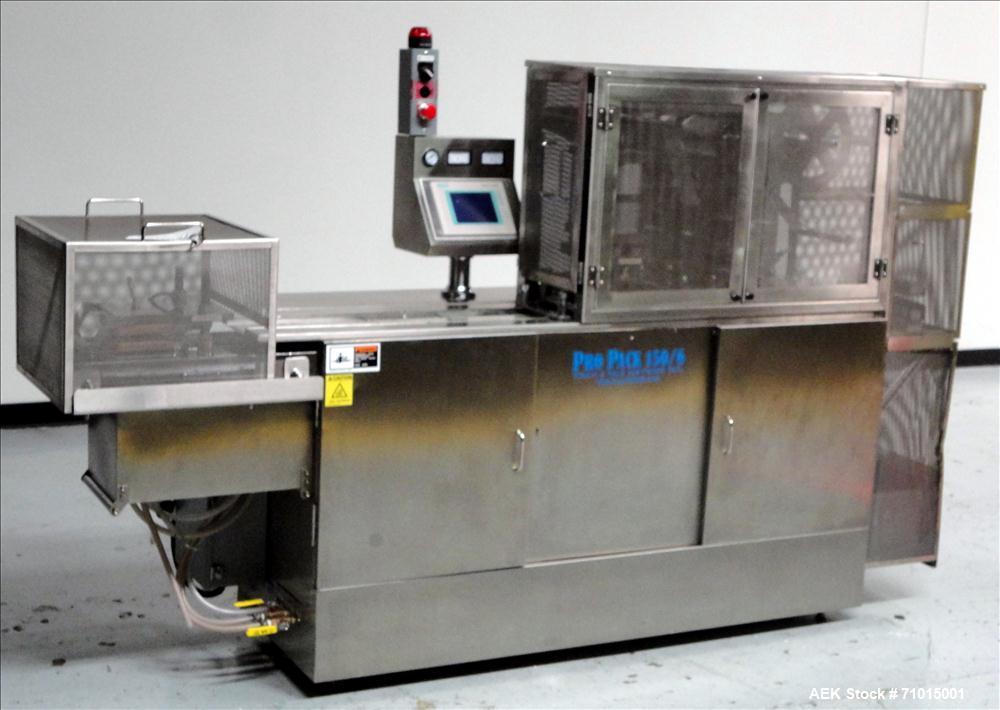 Used- ProPack Model 150/6 Pharmacy Blister Packaging Machine