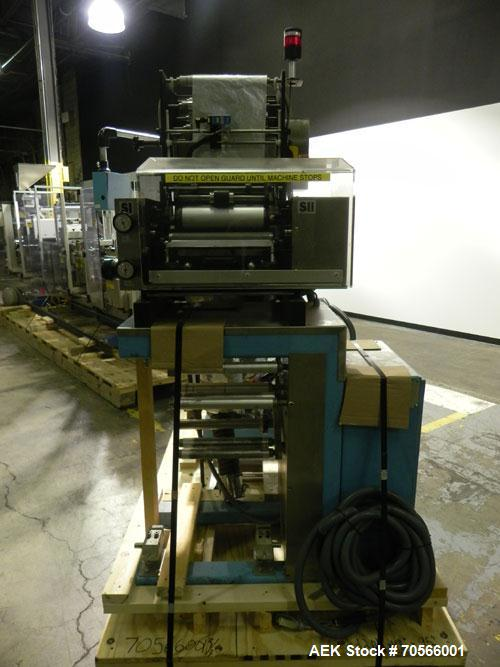 Used- Uhlmann Model UPS4MT Horizontal Form and Fill Blister Pack Machine