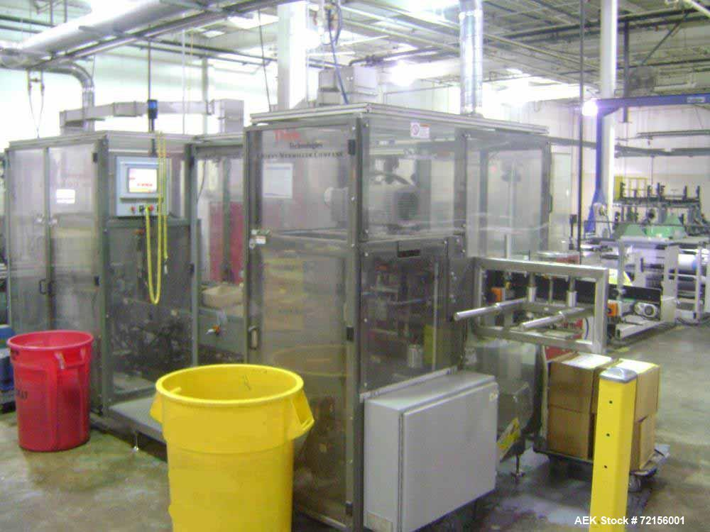 "Used Hudson Sharpe 40"" Servo Sideweld Polybag Machine"