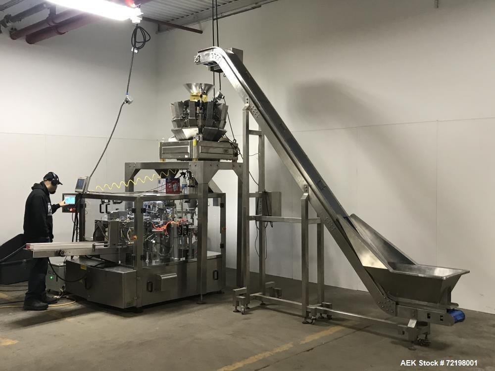 """Used- ActionPac """"Auto-Poucher"""" Premade Pouch Packager"""