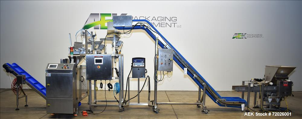 Used - All Fill Pemade Pouch Packager with Scale Filler.