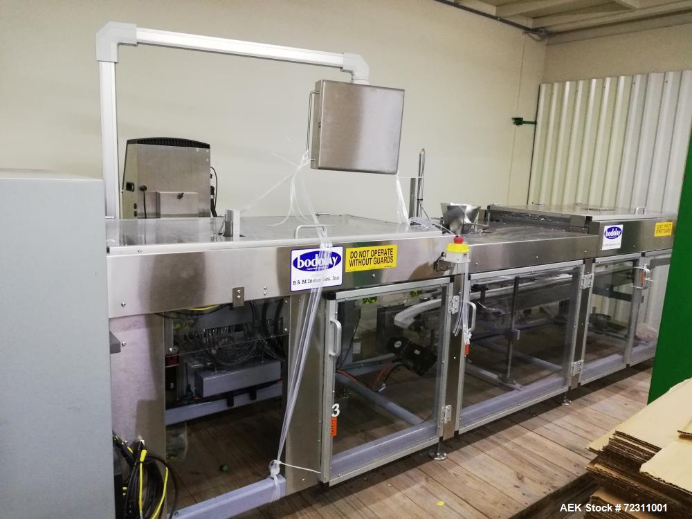 Unused- Bodolay Pre-Made Pouch Packager
