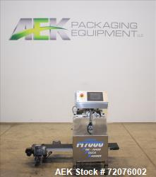 Used- Jaguar Semi Automatic Pre-Made Pouch Packager, Model M7000