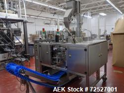 Used-Barrington Packaging Systems Duplex Vertical Form, Fill & Seal Machine