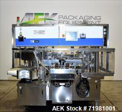 Toyo Jidoki Model TT9CW Preformed Pouch Machine.