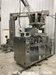 Used- Weighpack Swifty 3600 Doy Pouch Machine with Weighpack 10 Head Rotary Scal