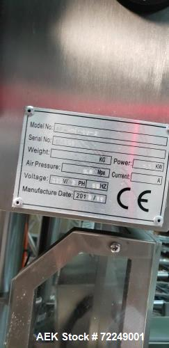 Used-Ohlson Model ROFS-1012-SS Preformed Pouch Machine