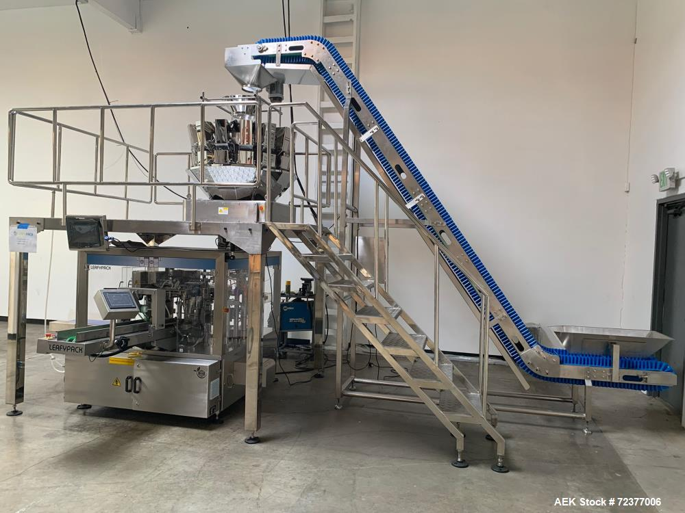 Unused- Plan IT Packaging Systems Neptune RotoBagger Pre-made Pouch Machine
