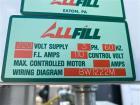Used- AllFill B-350-E Powder Filler