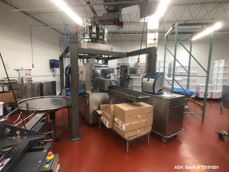 "Used- Viking Masek ""Solpac"" Pre-Made Bag Packager, Model 837-235"