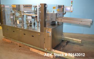 Used- Viking Solpac Rotary Pre Made Pouch Packager  Model 8SZ450