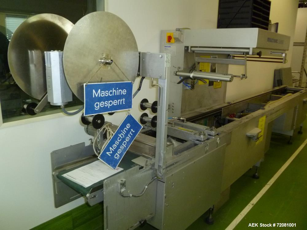 Used Multivac M860F Roll Stock Thermoformer