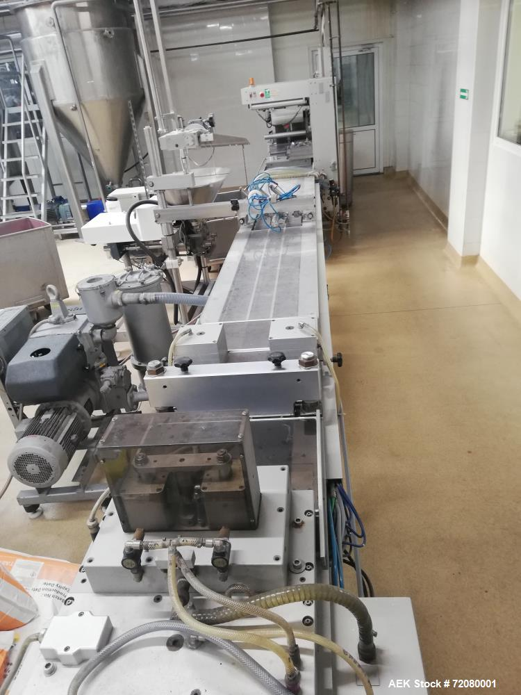 Used Multivac Thermoforming Film Packaging Machine