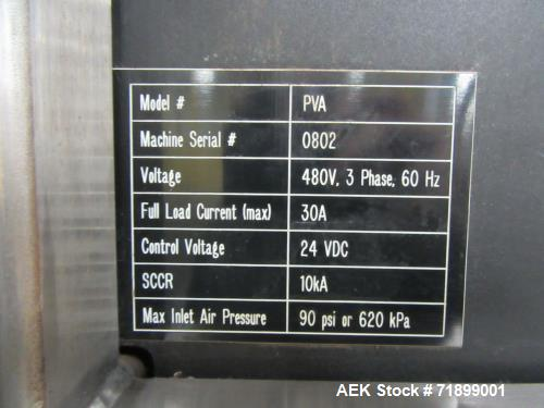 Used- Rideau Water Soluble Pod Forming Machine