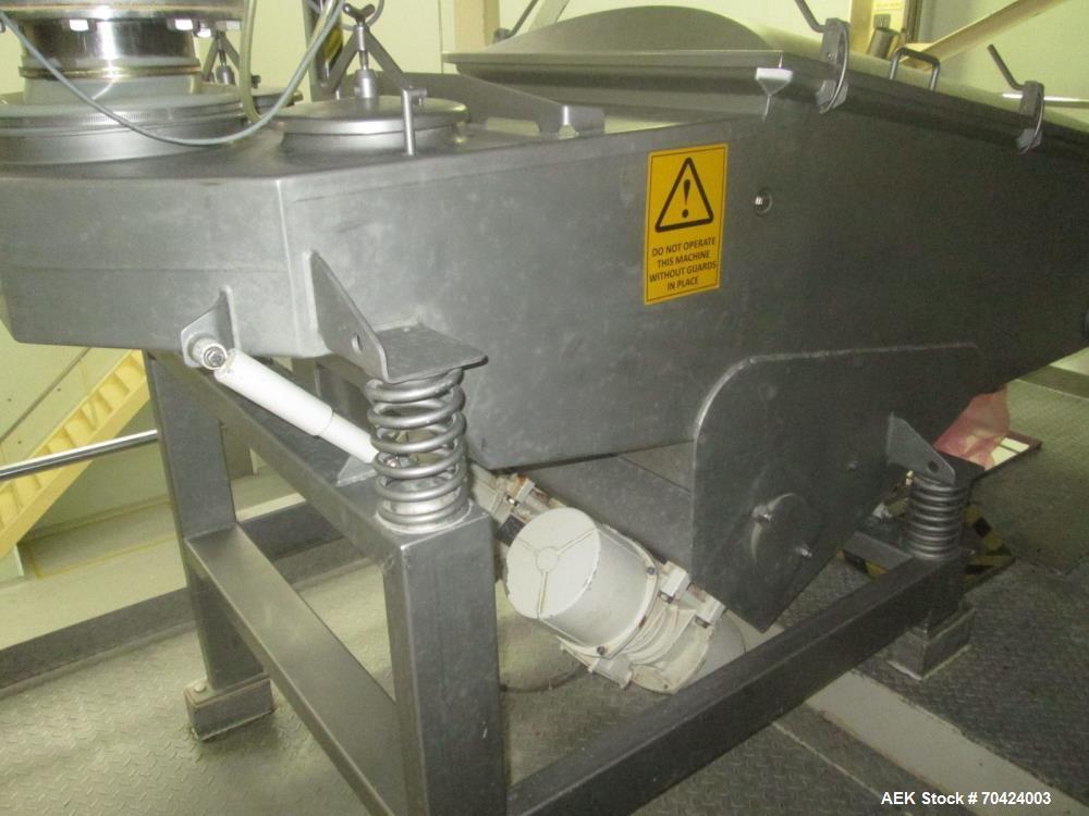 Used- Bosch SVE 3600 LR Vertical Bagger for Milk Powder/Infant Formula Bagger