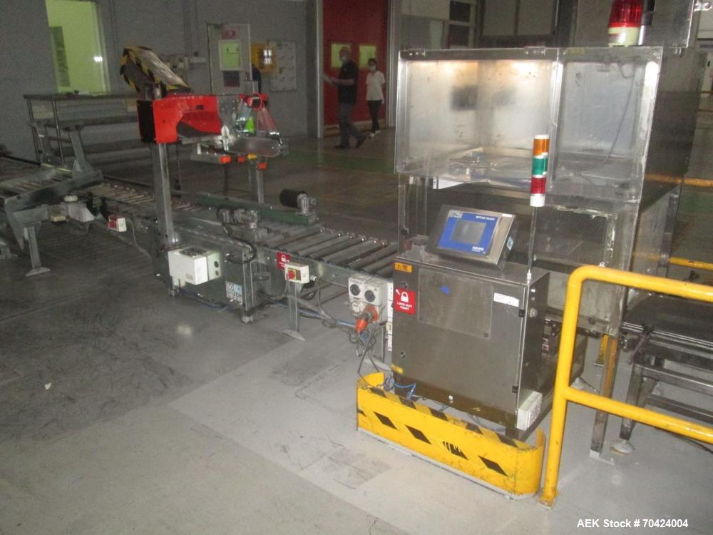 Used- Bosch Milk Powder/Infant Formula Continuous Motion Bagging Line