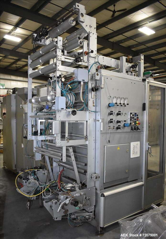 Used-Fres-Co (Goglio) model GL14-C Form Fill Seal Machine. Capable of speeds up to 30 packages per minute Pouch size range: ...