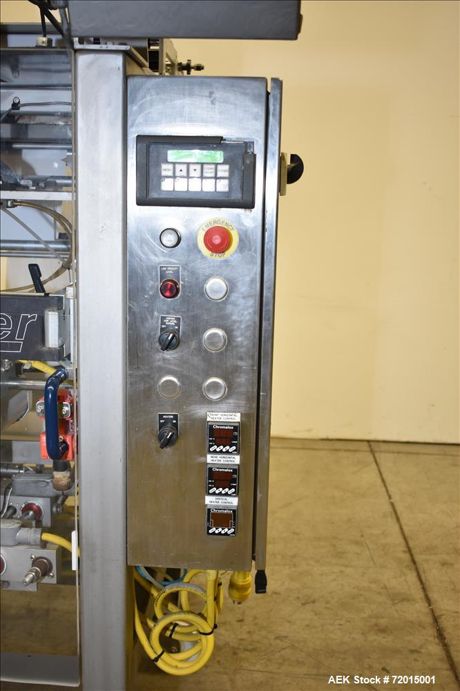 Used-Parson-Eagle Vertical Form Fill and Seal, Model PHASER.  Serial # LCB-10375.  Built 2004.  With AMS Auger Filler, Seria...