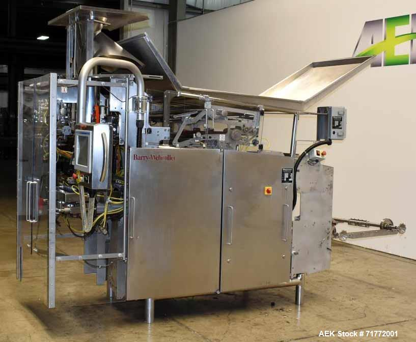 Used- Hayssen Ultimax CM-15 HPR Continuous Motion Vertical Washdown Form  Fill Se