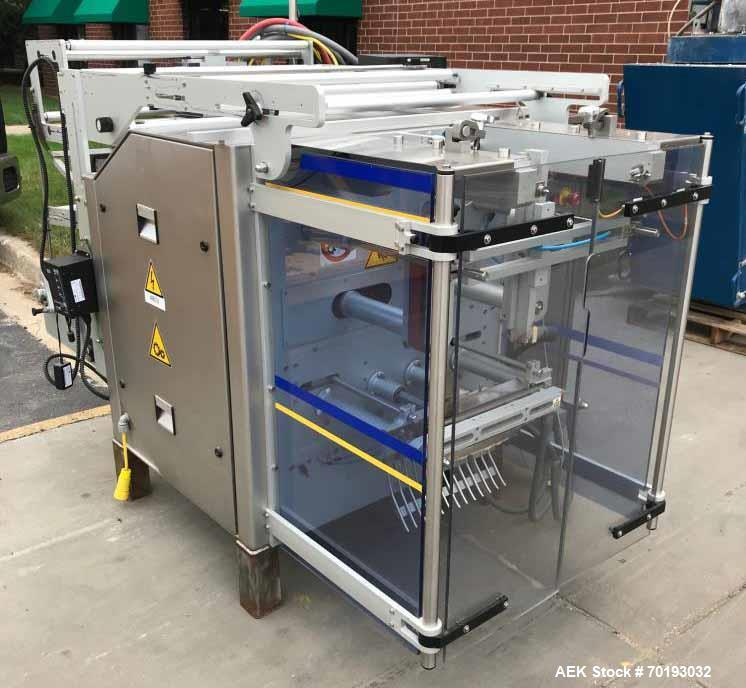 Used- Ilapak Vegatronic 1000 Stainless Steel Vertical Form Fill Seal