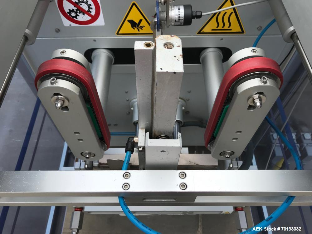 Used Ilapak Vegatronic 1000 Stainless Steel Vertical Form Fill Seal