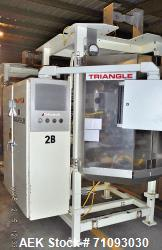 Triangle Vertical Form Fill & Seal Machine, Model B22C/A918H1RN.  1/60/460V  Serial # 119985