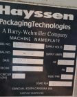 Used- Hayssen Utima Bagger, Model TR12-16HR.