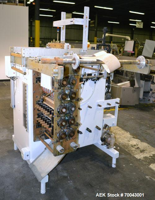 Used- Circle Vertical Form Fill and Seal Machine, Model V12NHX30.