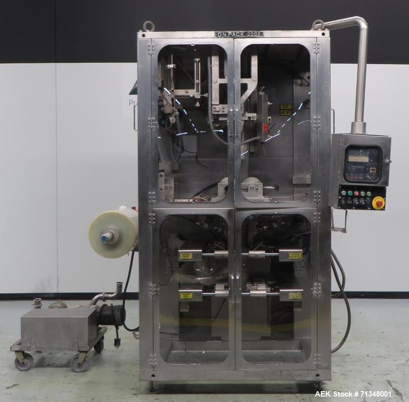 Used- Cryovac Model 2000B Vertical Form Fill and Seal Machine