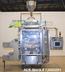 Used- Prodo-Pak Vertical Form, Fill & Seal Liquid Pouch Packager, Model PV215-CS