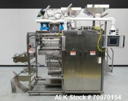 Used- Wrap Ade Model V-612 Vertical Strip Packager