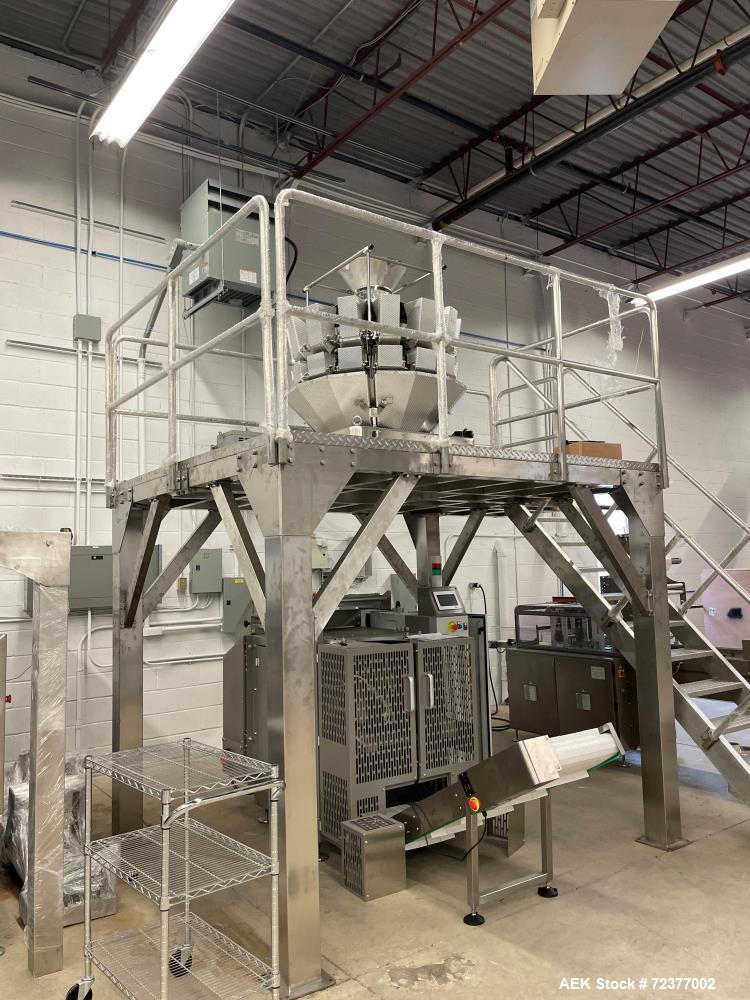 Used- Plan It Packaging Full Vertical Form Fill and Seal Line
