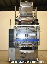 Used- Handok Stick Pack Machine, Model PD-P3V 10 Lane, 23mm