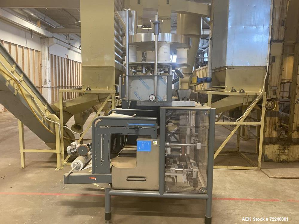 Used- Pentavac Volumetric Vertical Form Fill Machine