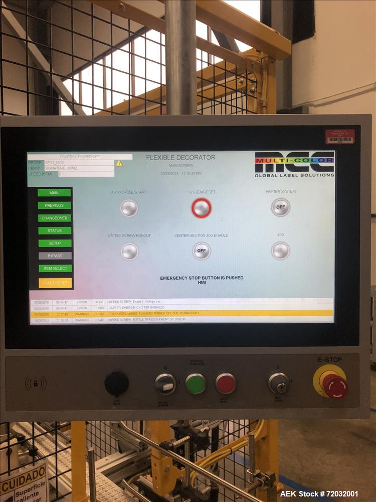 Used- MPC Multi Color Products Heat Transfer Labeler