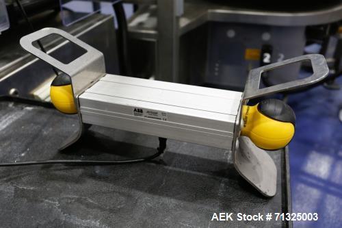 Used- Makro Model MAK-26P UAL1C01 Twin-Head Labeling Machine