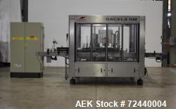 Auxiemba 12 Station Wraparound Labeler, Model Gacela R-12-HM-DR