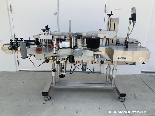 Used- CVC Front and Back Pressure Sensitive Labeler