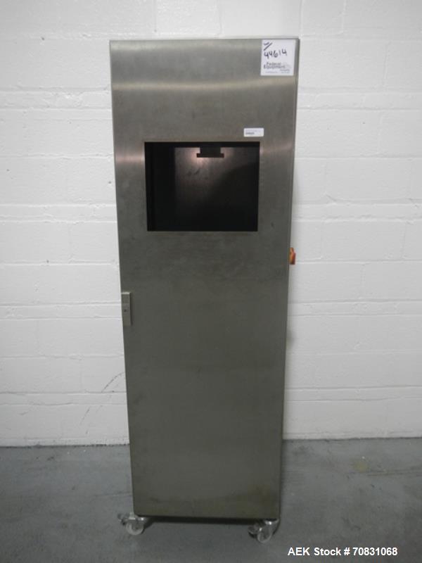 Used- Uhlmann carton labeler, model PAGO System P580